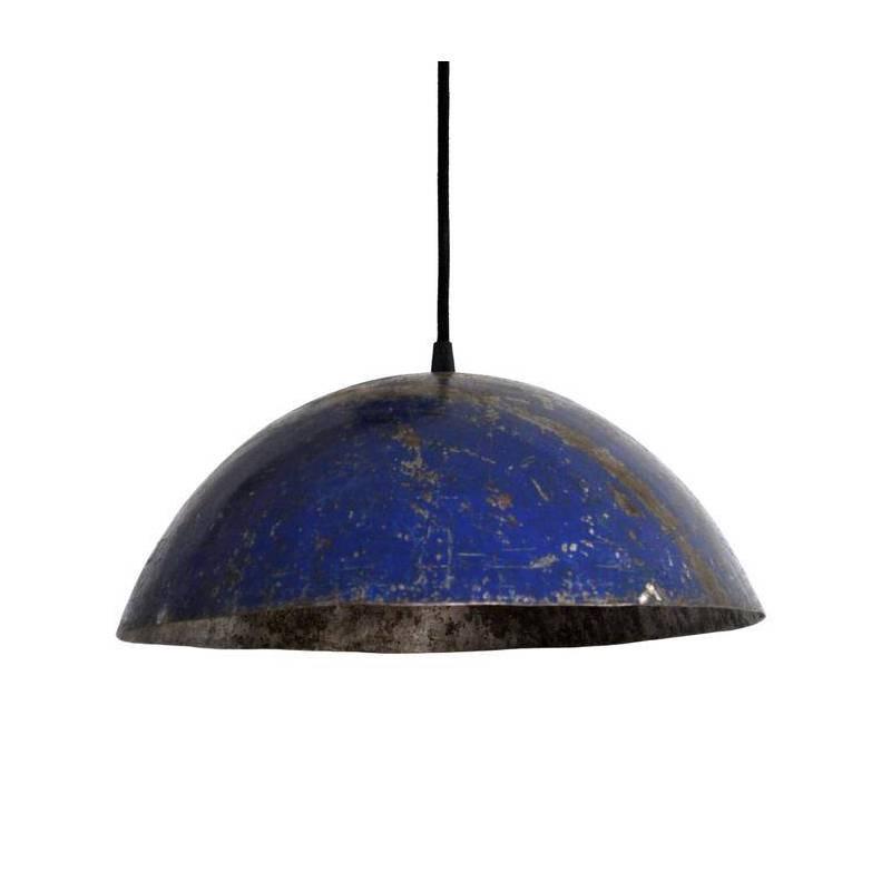 Lampe suspendue - couleur bleu