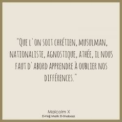 2 toiles Afro-History - MALCOLM X