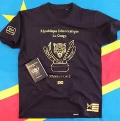 T-shirt PASSEPORT République Démocratique du Congo
