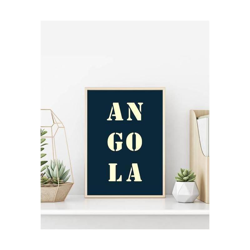 Affiche Angola