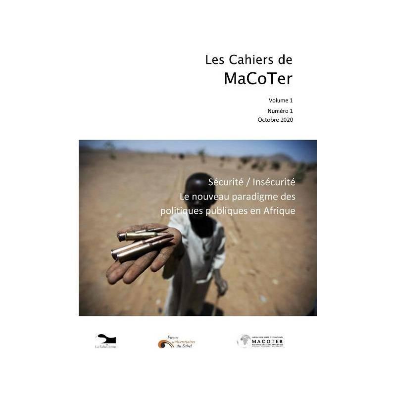 Les Cahiers de MaCoter. Volume 1. Numéro 1