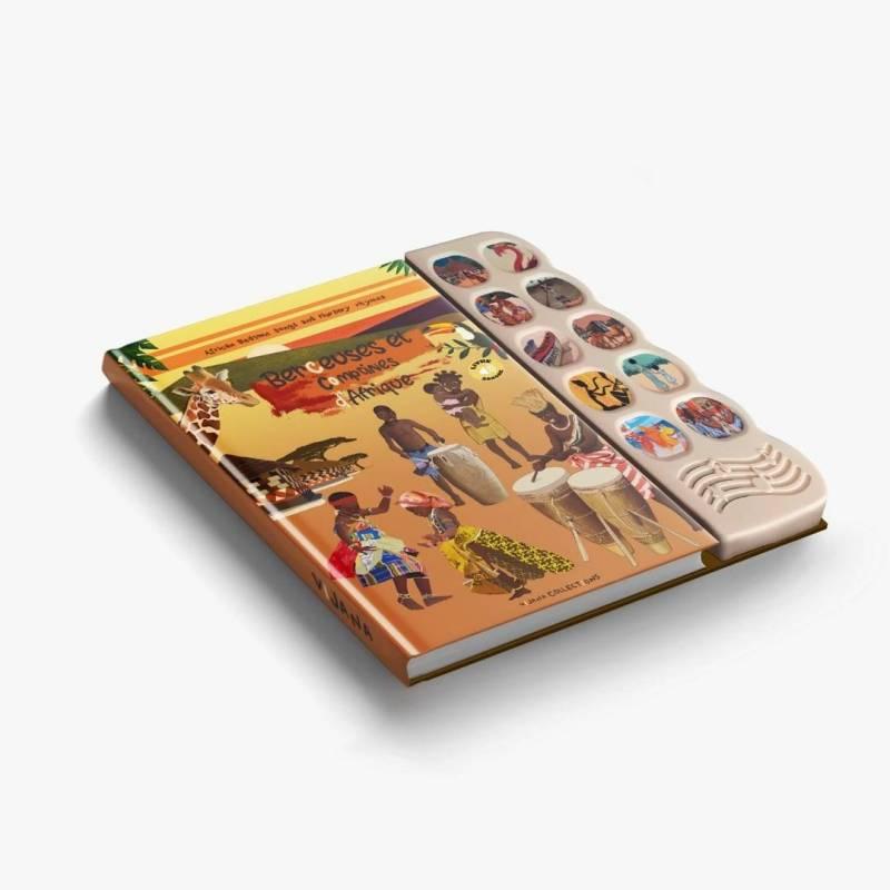 Livre sonore « Berceuses et comptines d'Afrique »
