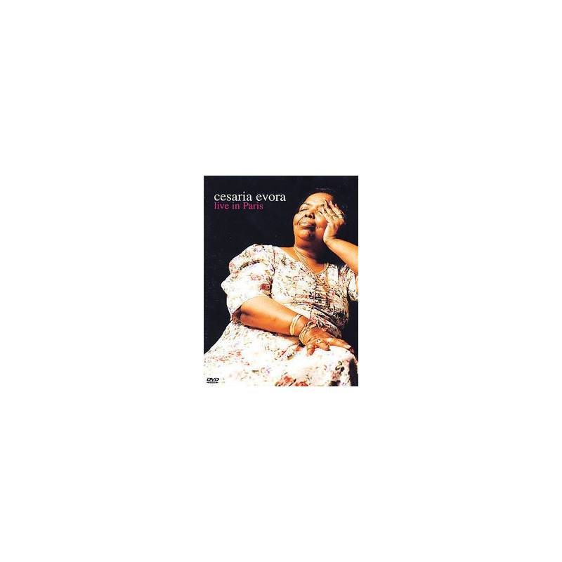 DVD Cesaria Evora - Live in Paris