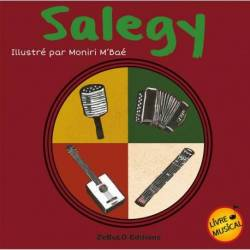 Salegy, livre musical illustré par Moniri M'Bae