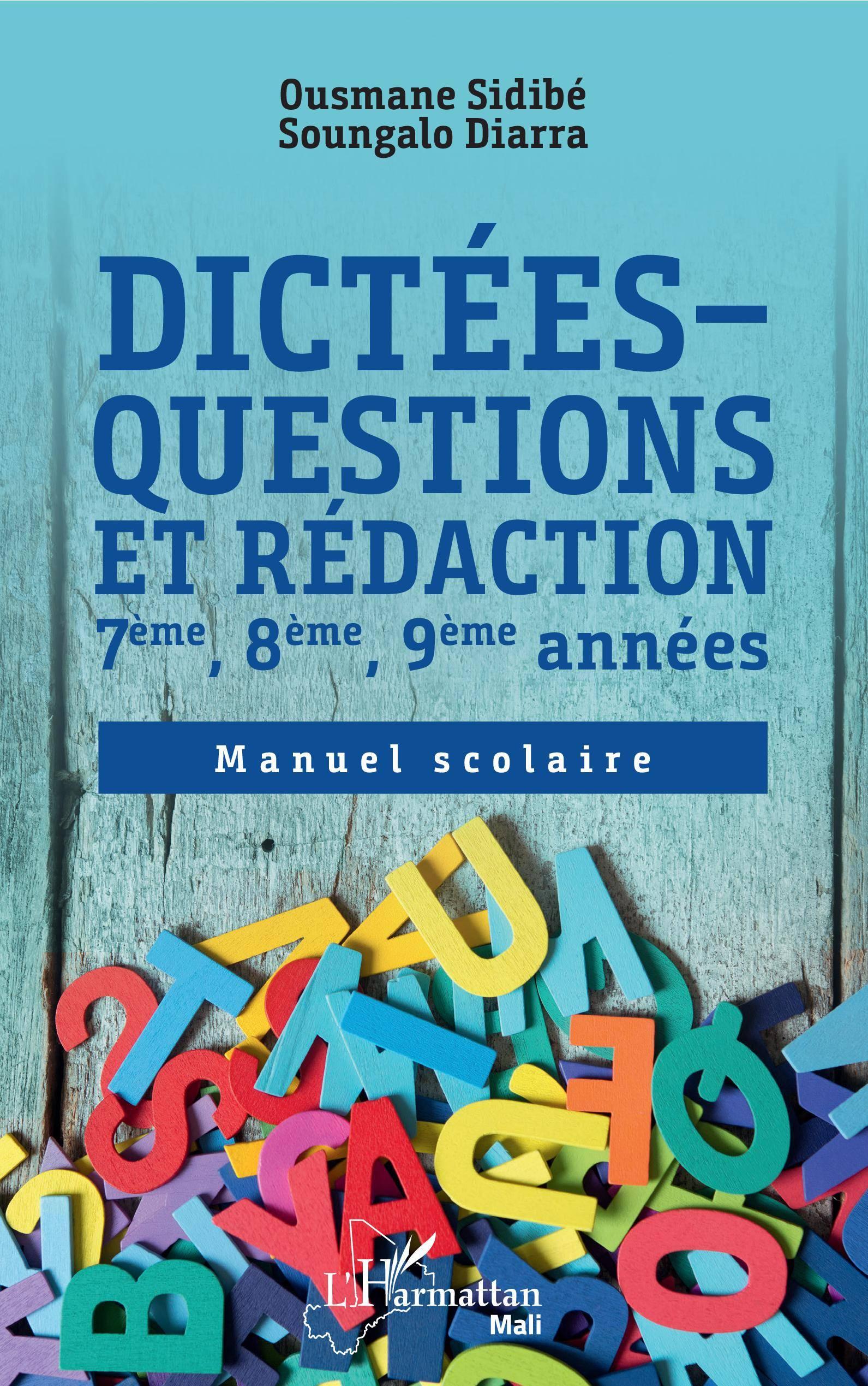 Dictees Questions Et Redaction 7eme 8eme 9eme Annees De